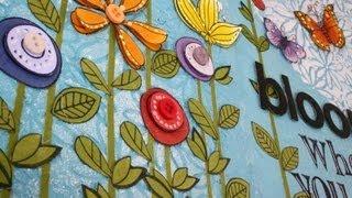getlinkyoutube.com-Art Journal Page : Bloom