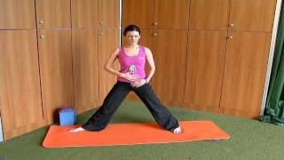 The Warrior Pose with Yoga for Golf Ireland