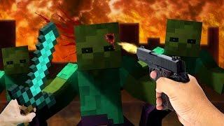 EEN GROTE ZOMBIE INVASIE!!? Minetopia 1 JAAR ROLEPLAY!! #7