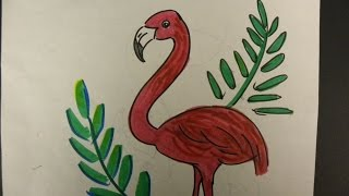 getlinkyoutube.com-Kids Can Draw: Flamingo