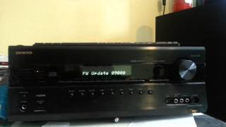 getlinkyoutube.com-Firmware Update - Onkyo TX-SR608 (via PC & SPDIF)