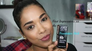 getlinkyoutube.com-First Impressions || Makeup Forever Ultra Hd Foundation Stick | Shade 173- Y445