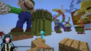 getlinkyoutube.com-Minecraft SkyWars #33 | احلى قصة فالعالم