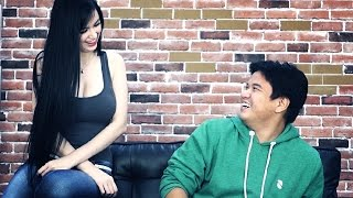 getlinkyoutube.com-Guys Discuss FHM's Kim Domingo Issue (When Kim Suddenly Appears!)