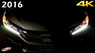 getlinkyoutube.com-2016 Honda Accord Sport AT NIGHT Interior and Exterior in 4K