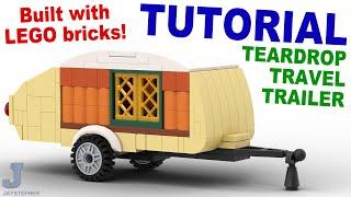getlinkyoutube.com-Tutorial - Lego Teardrop Travel Trailer