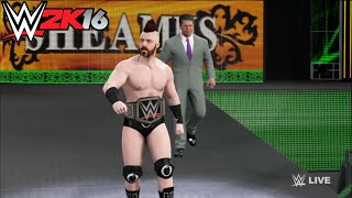 getlinkyoutube.com-Roman Reigns vs. Sheamus - WWE World Heavyweight Championship Match: Raw,WWE 2K16 Simulation