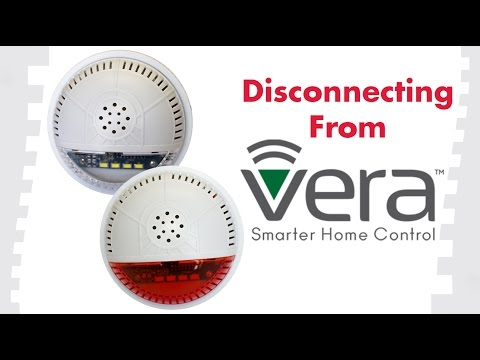 How to Remove Devices From Vera: FortrezZ Indoor Siren Alarm