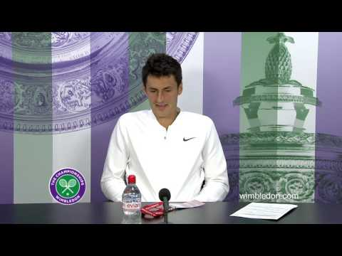 Bernard Tomic third round press conference