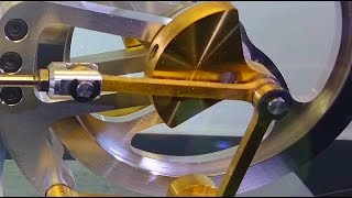 Extremly smooth Stirling Engine