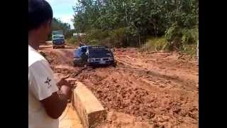 getlinkyoutube.com-Kondisi jalan Pinoh Kalimantan Barat, parah