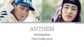 getlinkyoutube.com-IKON - ANTHEM (이리오너라) (B.I & BOBBY) [Color Coded Han|Rom|Eng]