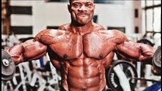 getlinkyoutube.com-DEXTER JACKSON    SHOULDERS WORKOUT 5 weeks out from the 2013 Mr  Olympia