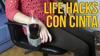 3 LIFE HACKS con cinta americana (Experimentos Caseros)