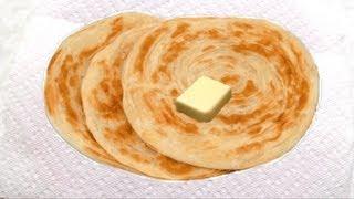 getlinkyoutube.com-Malabar Parotta Recipe Video - Laccha Paratha or Kerala Parotta recipe | Layered Roti Recipe