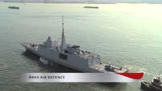 getlinkyoutube.com-French Navy Aquitaine class Frigate (DCNS FREMM) in New York City