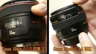 getlinkyoutube.com-Canon 'L' lens challenge: 50mm f/1.2 'L' vs 50mm f/1.4