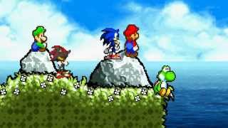 getlinkyoutube.com-Super Mario bros. Z Credits roll animation