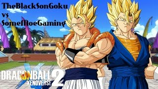 getlinkyoutube.com-Youtuber Battles ! Who's Stronger Gogeta or Vegito ! Xenoverse 2