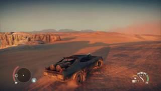 getlinkyoutube.com-MadMax game - Secret area in the big nothing desert( main menu)