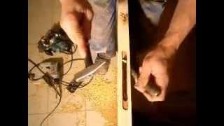 Как врезать магнитный замок в дверь