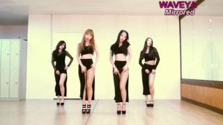 getlinkyoutube.com-Mirrored Waveya ★ GIRL'S DAY Something 걸스데이 썸씽 kpop cover dance ver.