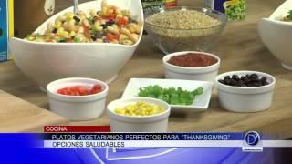Platos vegetarianos perfectos para ?Thanksgiving?, opciones saludables