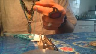 getlinkyoutube.com-Wrapping a stone with macrame