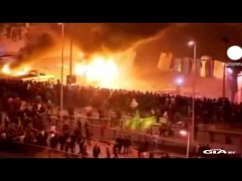 Hantu penunggang kuda dirakam ketika rusuhan di Mesir