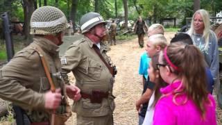 getlinkyoutube.com-WW2 School Kids Day - Rockford, ILL Sept 2016
