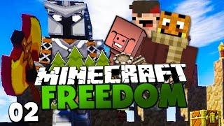 getlinkyoutube.com-KAMPF GEGEN OBERMISSET MANGO & REWI TÖTET EDGAR?! ✪ Minecraft FREEDOM #02
