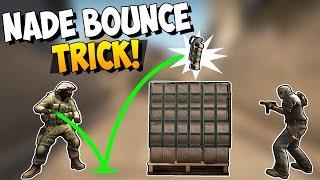 CS:GO - Grenade Bounce Trick