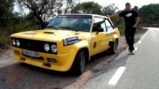 getlinkyoutube.com-Fiat 131 Abarth Rally, la prueba clásica