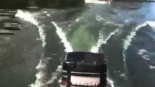 getlinkyoutube.com-4 hp motor running fast on a 14 ft tinny