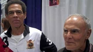 getlinkyoutube.com-Jim Kelly And John Saxon Talk Bruce Lee Of Enter The Dragon At WonderCon