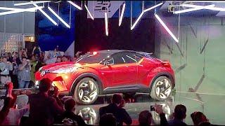Scion C-HR Press Conference 2015 L.A. Auto Show by CarNichiWa.com