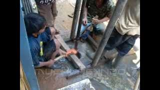 getlinkyoutube.com-Sumur Bor Hidrolic Jet pump Honora - Water well Drilling