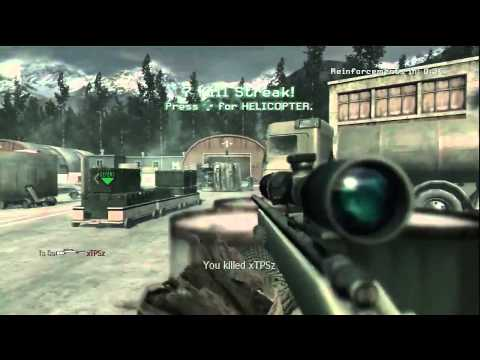 COD4 : Most Amazing QUAD feed EVER + Streak!! (EPIC!)