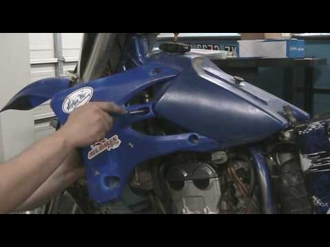 Part 4: How to disassemble a motocross bike. Radiator shrouds. YZ250F example.