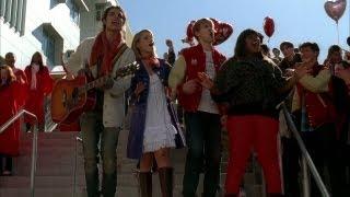 getlinkyoutube.com-GLEE - Stereo Hearts (Full Performance) (Official Music Video)
