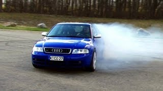 getlinkyoutube.com-Audi S4 biturbo quattro AWD - Best of oversteer, drifts, and hoonage driving sideways...