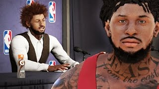 getlinkyoutube.com-NBA 2k16 My Career Gameplay Ep. 18 - FREE AGENCY! Signature Styles, Attributes, Animations & Tattoos