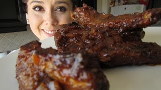 getlinkyoutube.com-COSTILLAS EN SALSA BBQ CASERA