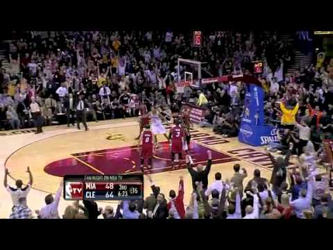 NBA Miami Heat Vs Cleveland Cavaliers Game Recap 03/29/2011 Lebron's Return