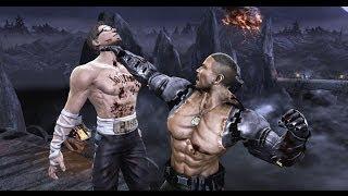 getlinkyoutube.com-Combos Mortal Kombat 9 Todos los personajes