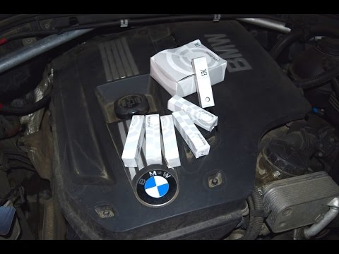 Замена свечеи на BMW X3 F25