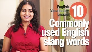 getlinkyoutube.com-10 commonly used slang words used in English - Advance English Lesson
