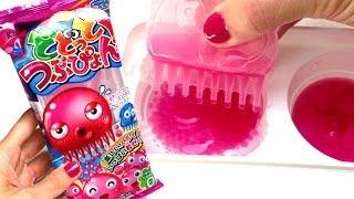 getlinkyoutube.com-Kracie Dodotto Tsubu Pyon Kracie Popin' Cookin' どどっと つぶぴょん Dot Drip Candy どどっとつぶぴょん