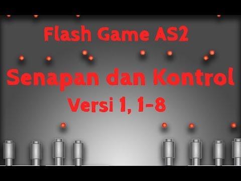 Membuat Game Flash Actionscript 2, 1, Senapan dan Kontrol, Membuat Model Senapan