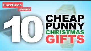 getlinkyoutube.com-10 Cheap Punny Christmas Gifts!